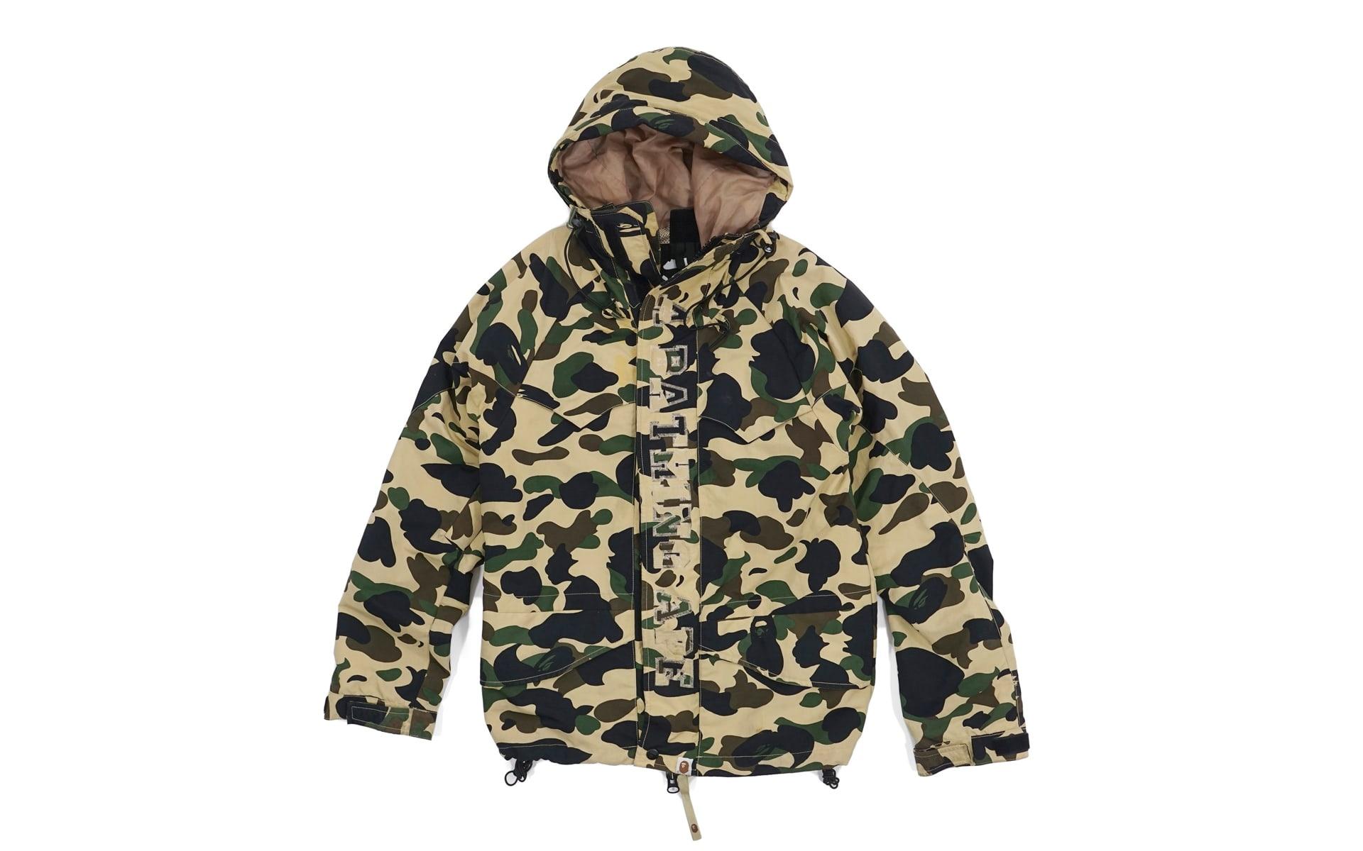 20de866421fe Bape 1st Camo Snowboard Jacket