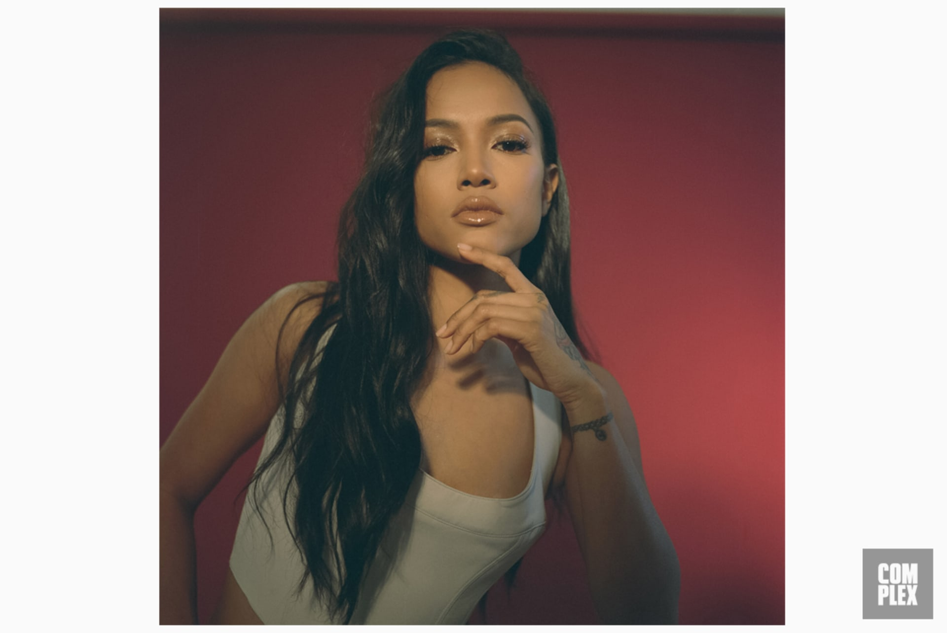 Karrueche TRan Red Portrait