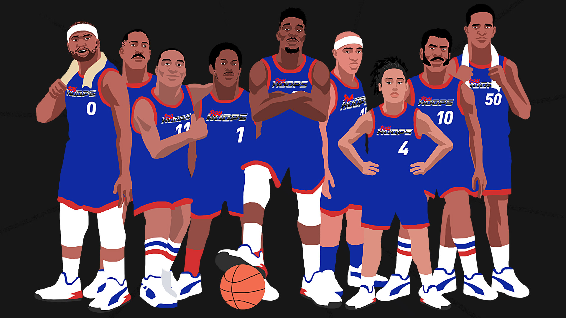 f88c5e6760e puma-basketball-dream-team. Illustrations via Khammy Vilaysing. Boogie  Cousins.