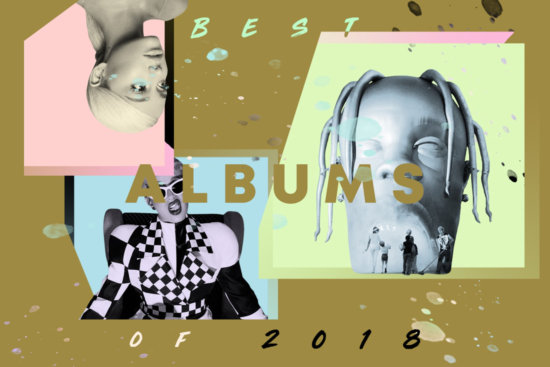 The Internet Hive Mind The Best Albums Of 2018 Complex