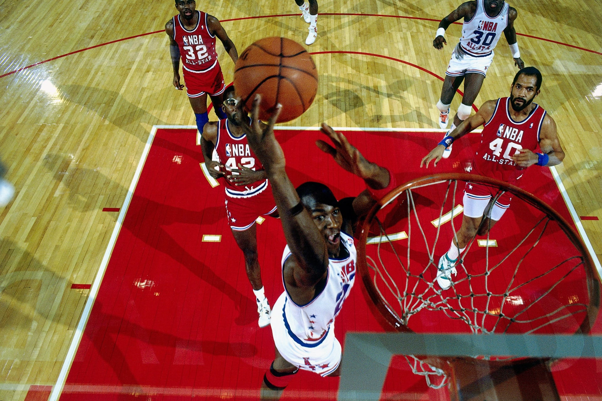 huge selection of bc317 d3f59 Michael Jordan 1988 Chicago All-Star Game Getty