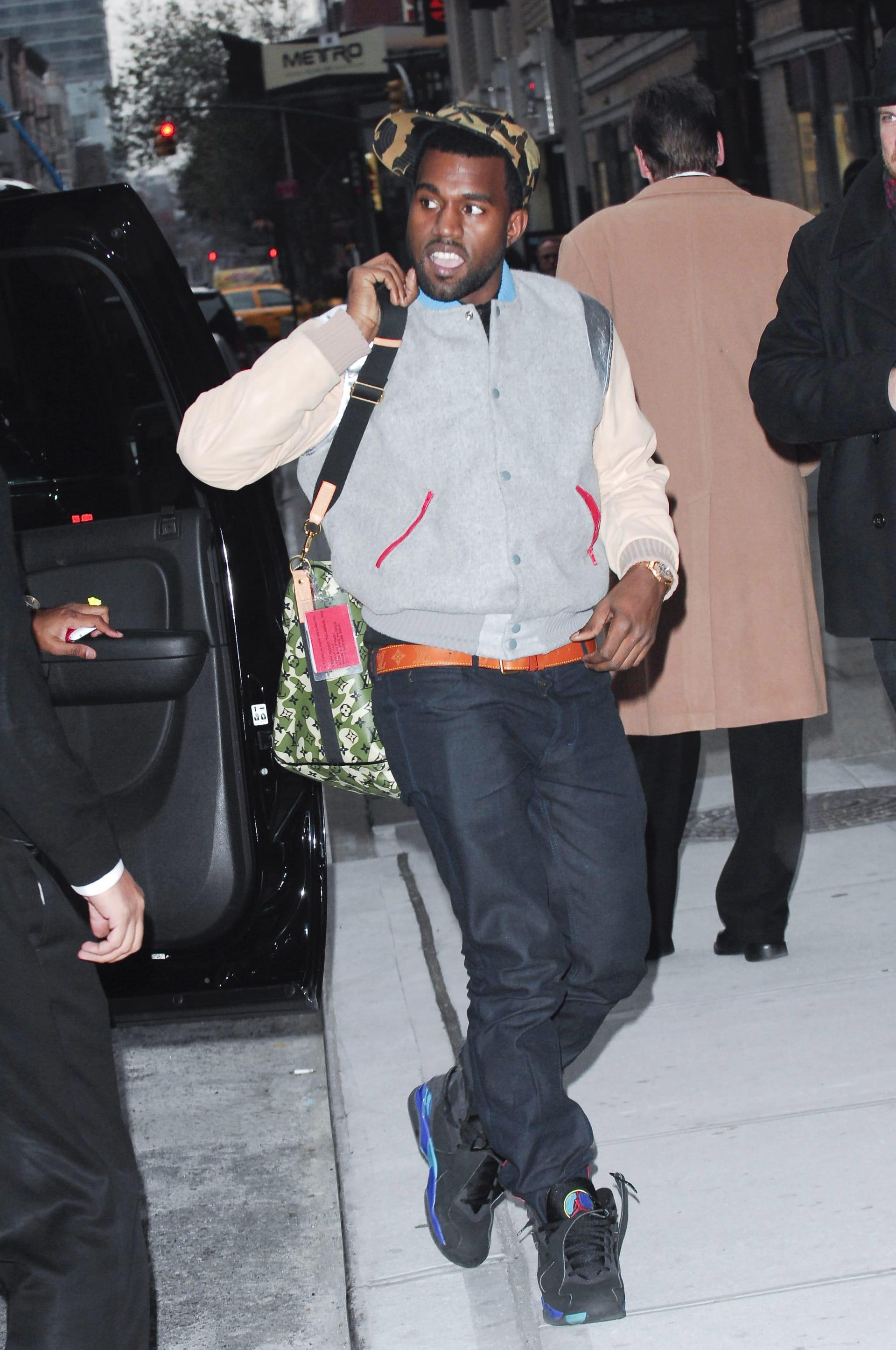 wholesale dealer d3861 811ee Kanye West wearing a Pastelle jacket
