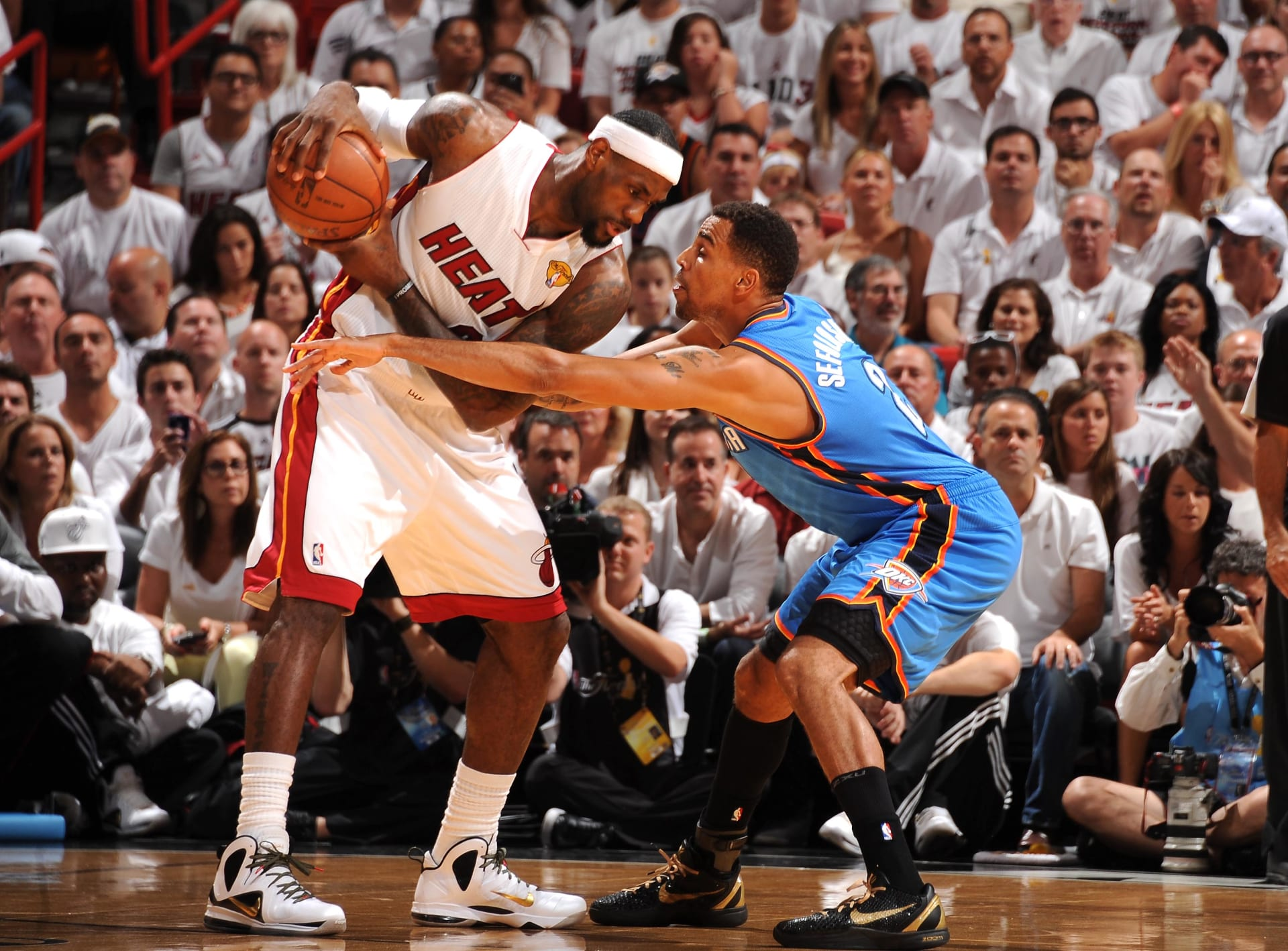 83b001595eb The Best Sneakers in Every NBA Finals Since Michael Jordan s First ...
