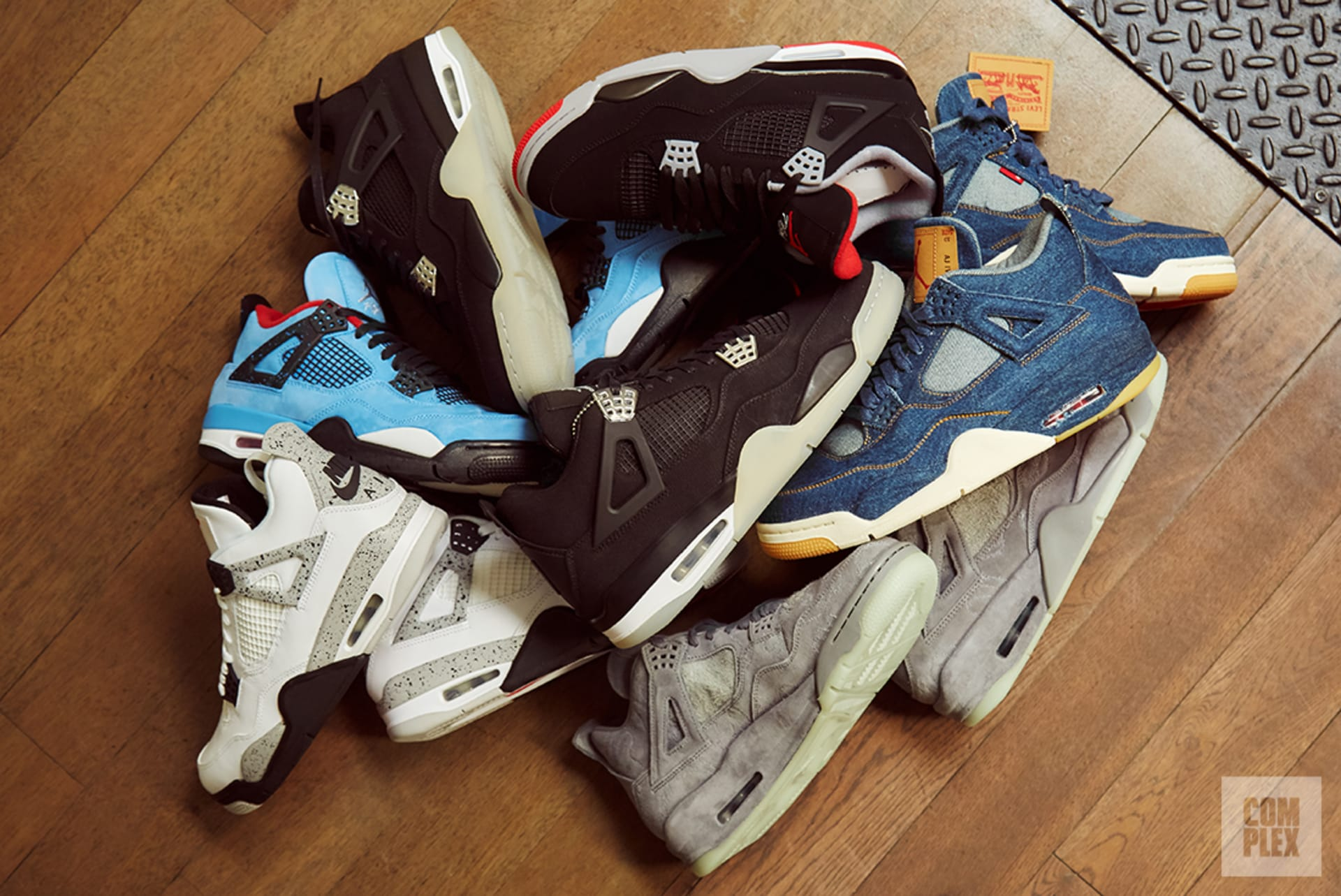 fd1c0f46ce5f Air Jordan 4. Image via Complex Original David Cabrera. All sneakers  courtesy of Stadium Goods.
