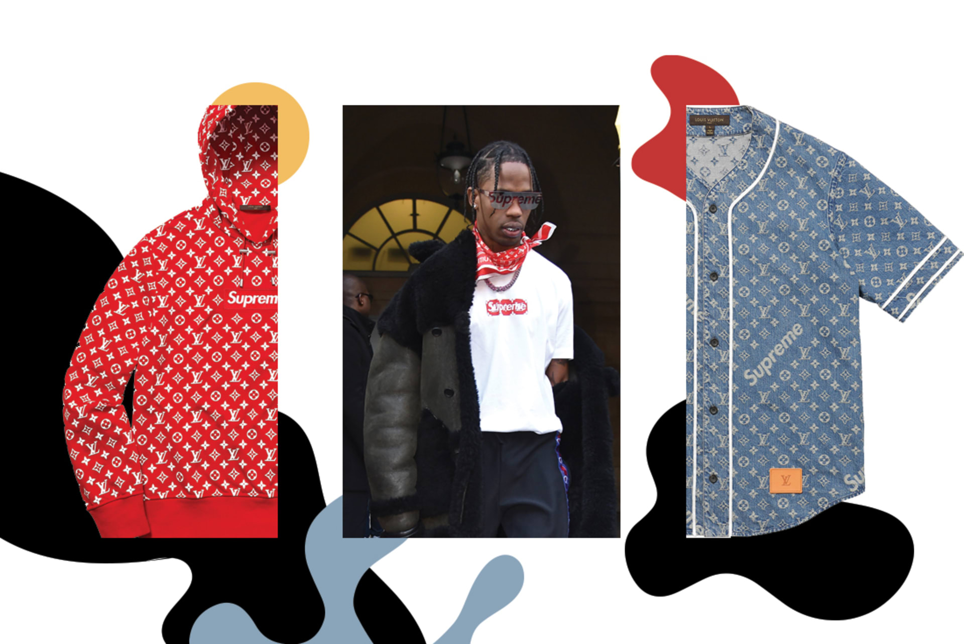 Supreme x Louis Vuitton Best Collabs 2017
