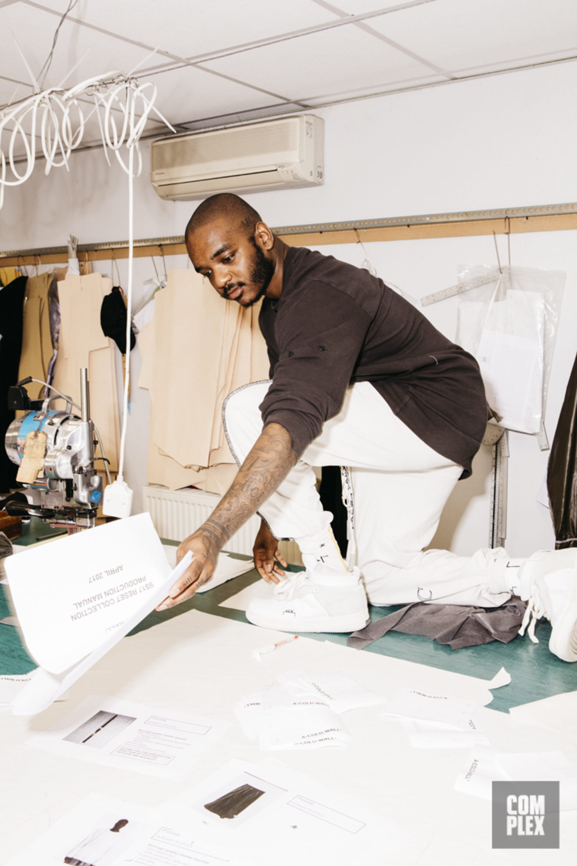 31f0fb67310 How Samuel Ross Went From Making Knock-Off Nikes to Being One of ...