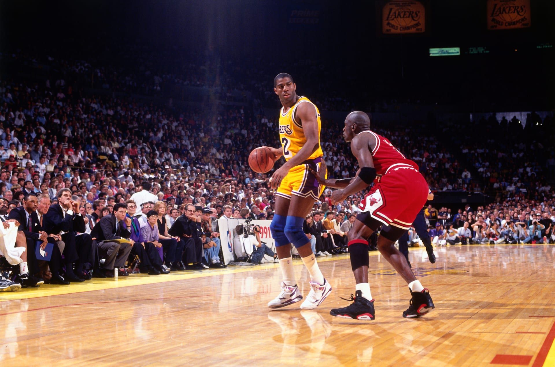 30a97d7c05f87 The Best Sneakers in Every NBA Finals Since Michael Jordan s First ...