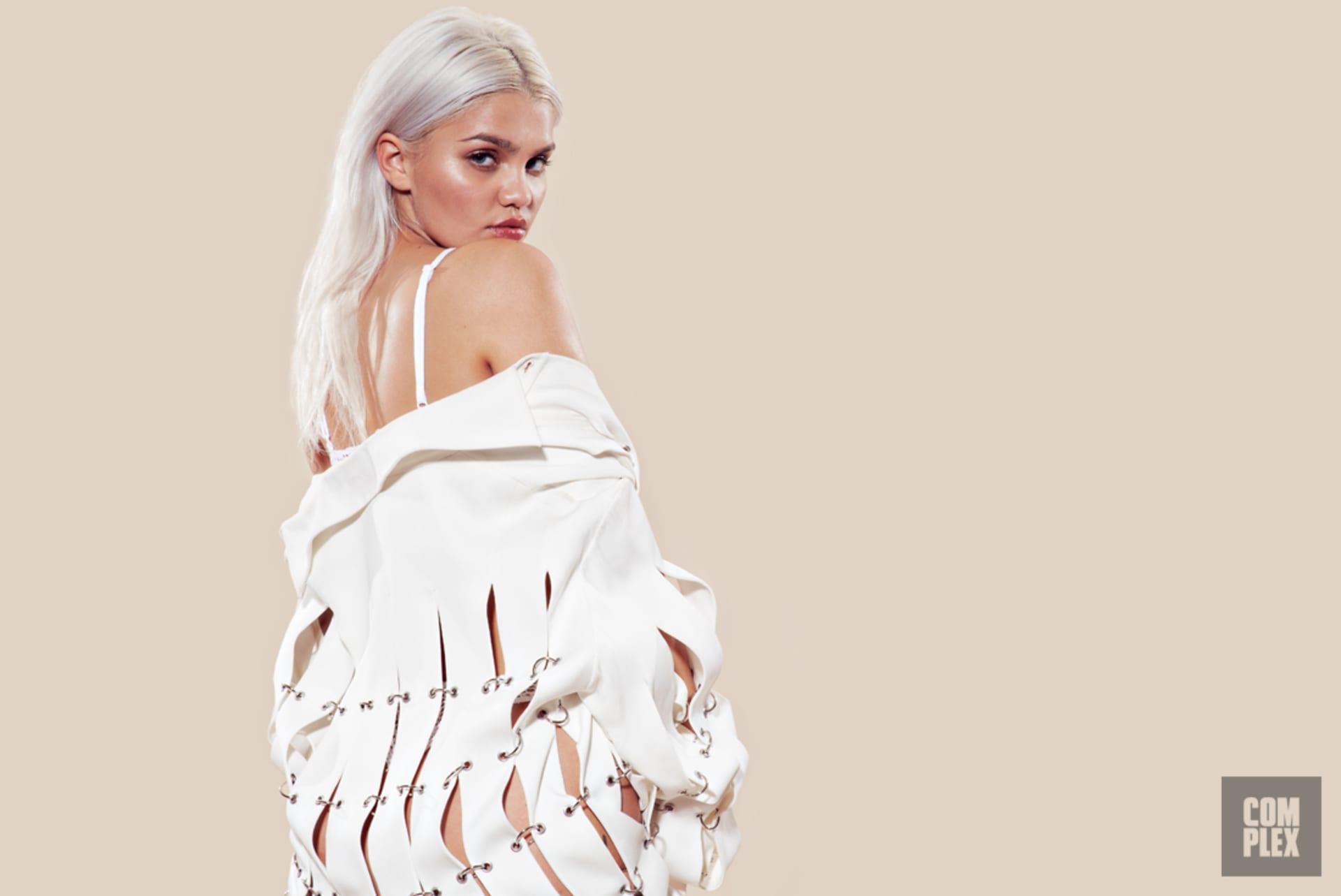 508bdc582b85af How Amina Blue Went From Video Vixen to Kanye West s Favorite Model ...