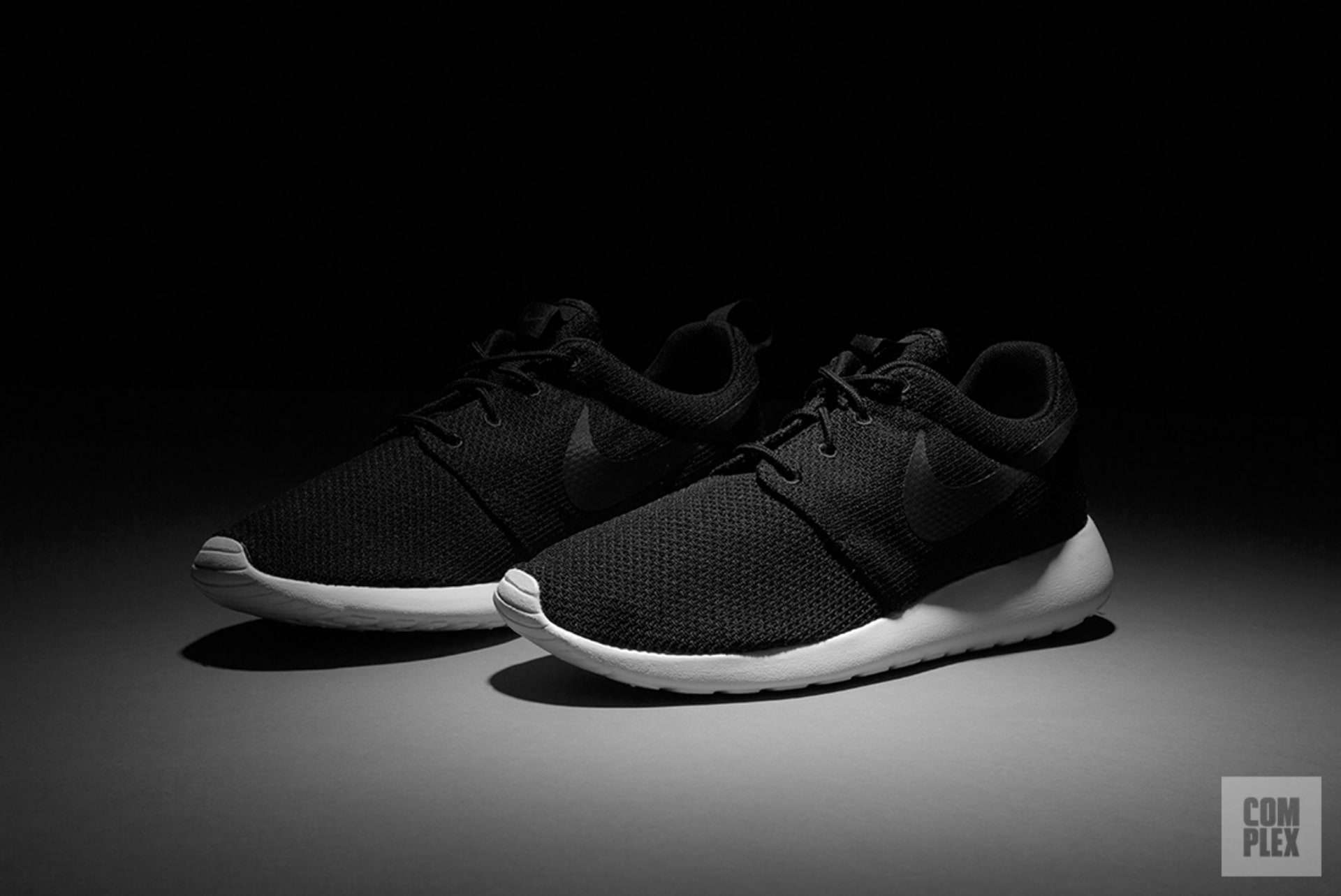best loved 34a87 4e824 Nike Roshe Black