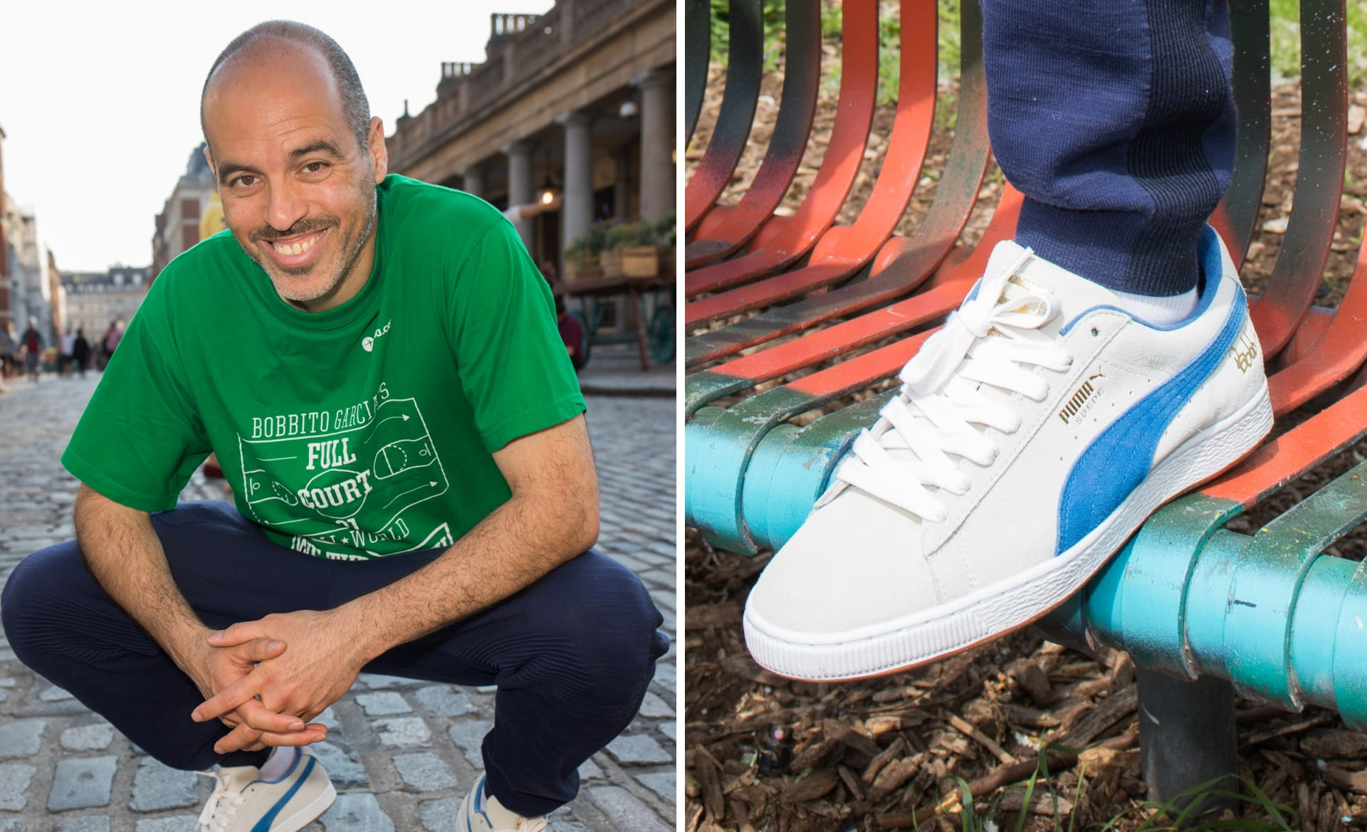 bb2b2250e66 Bobbito Garcia Breaks Down His PUMA Suede 50 Collab and the Shoe s Impact  in Hip-Hop