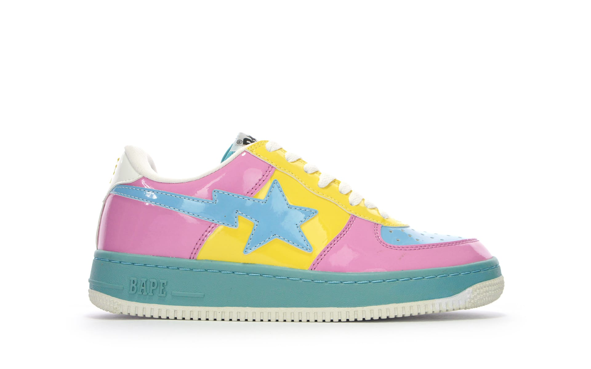 ec9fa678b Bape Patent Leather Bapesta