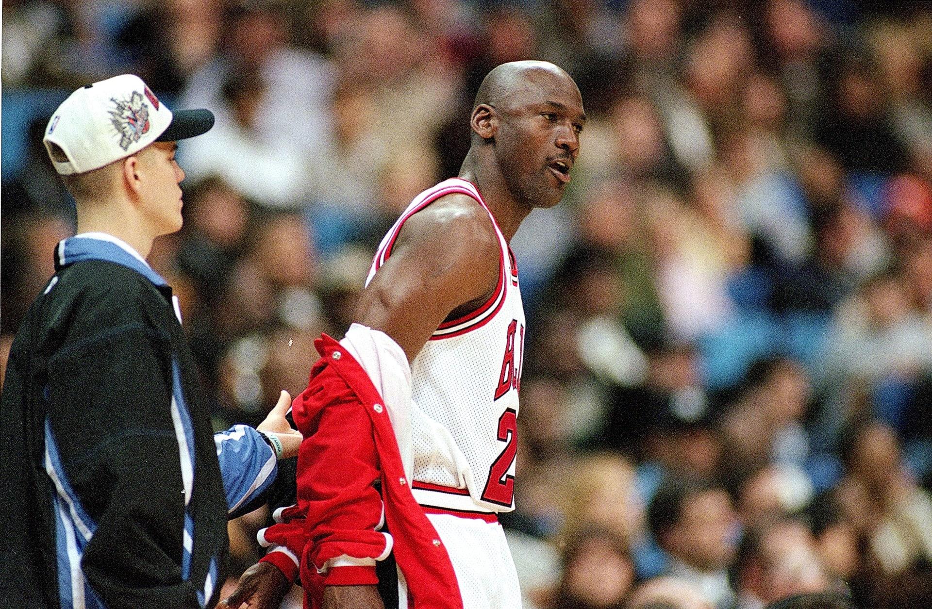 wholesale dealer 313ff 9a9e4 Michael Jordan 1997 NBA All-Star Game Getty