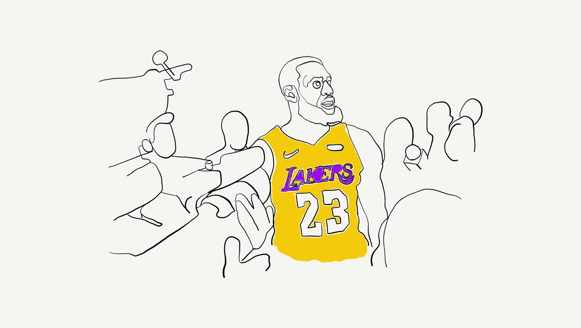 10 LeBron James Stories Told By NBA Broadcasters and Journalists ... 5b9cb7cab