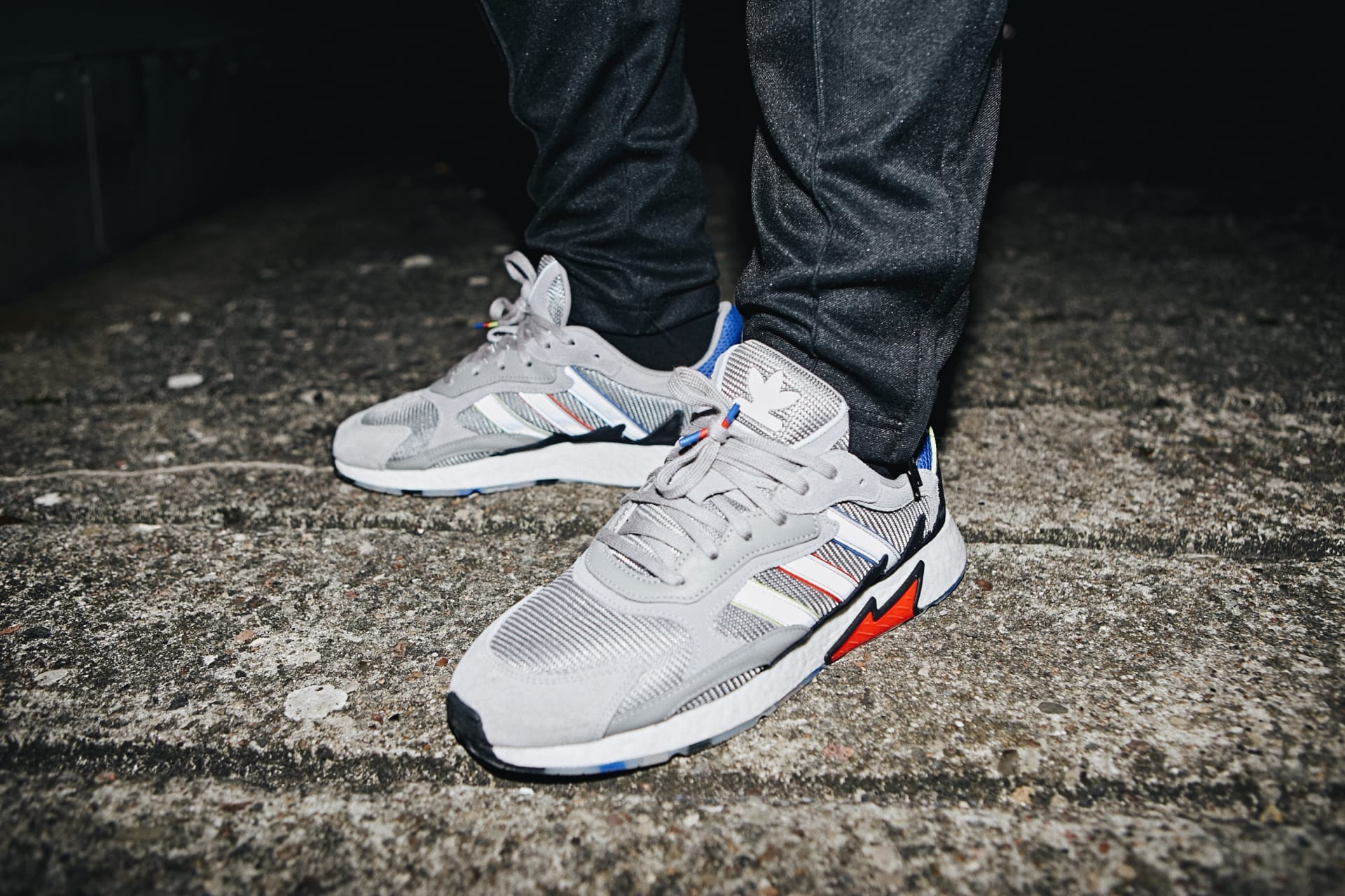 half off 6ff42 b0808 adidas Originals and Foot Locker Brought the Heat to Berlin to Launch the  90s-Inspired TRESC Run