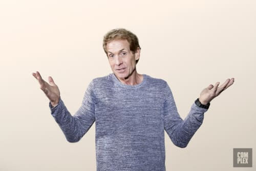 Skip Bayless No. 2 Los Angeles Arms Up