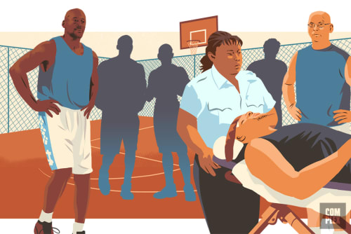 Michael Jordan Oral History of Baseball Career Pickup Basketball Hospital