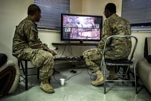 Soldier and Video Games 5