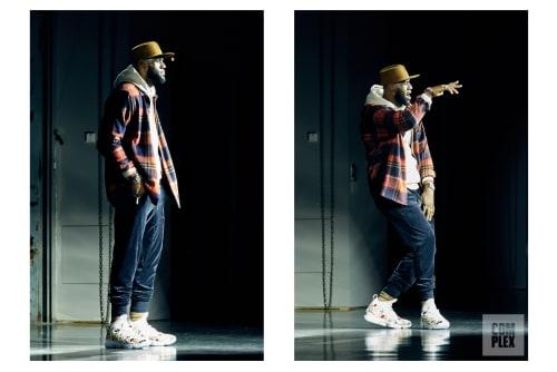 LeBron James walking Kith's show