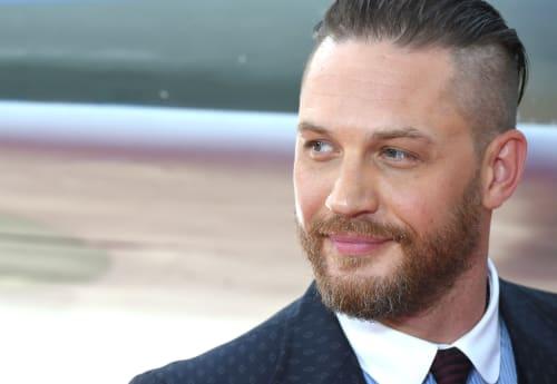 Tom Hardy attends 'Dunkirk' premiere