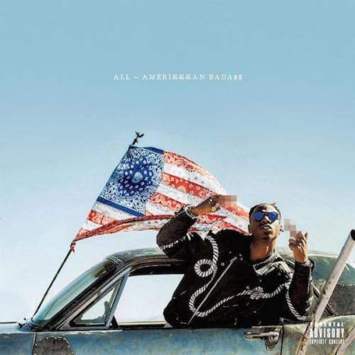 This is photo of Joey Badass' album cover.