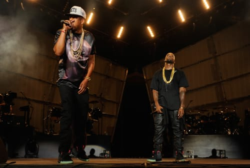 Kanye West and Jay Z Watch the Throne Yeezys