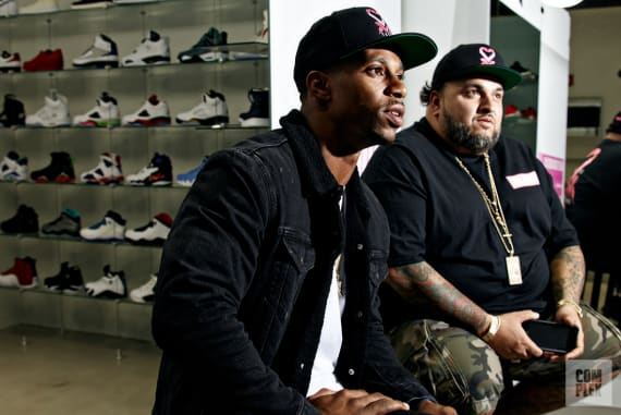 Victor Cruz x Sneaker Room 3