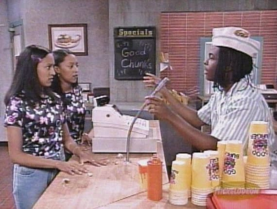 Tia and Tamera Good Burger
