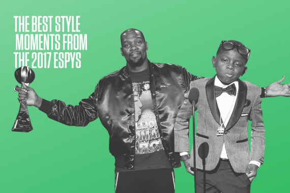 Best Style Moments From the 2017 ESPYs