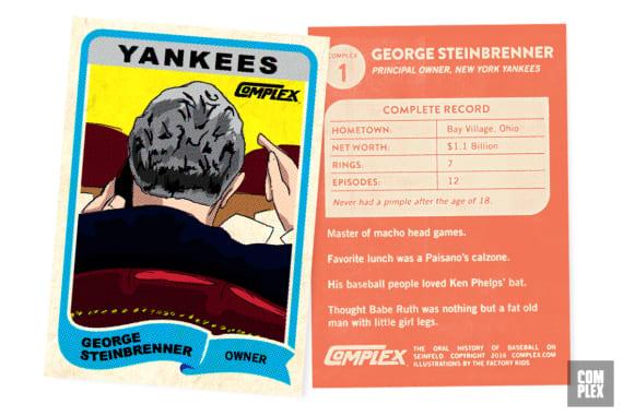 Steinbrenner Baseball Card Version 2 OHOBOS
