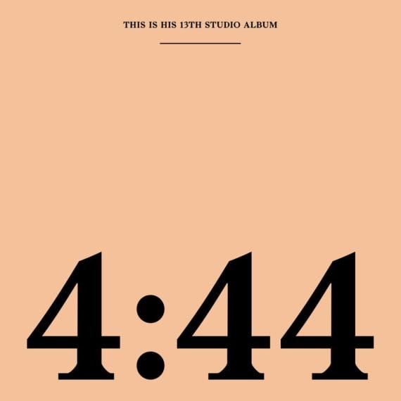 Jay-Z '4:44' album cover