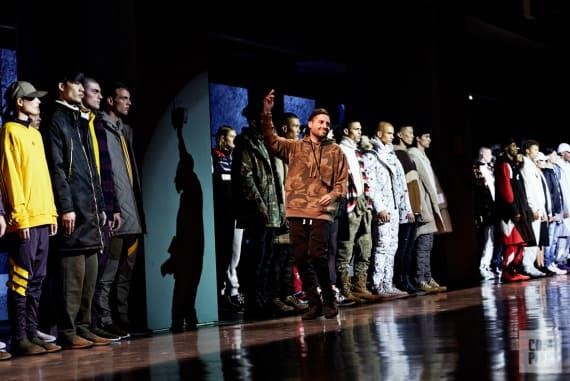"Ronnie Fieg at the ""Kith Sport"" New York Fashion Week show."