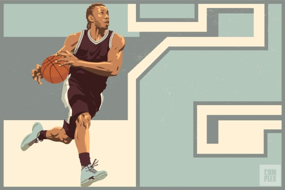 Kawhi Leonard NBA MVP Race Longcroft Illustration 2017