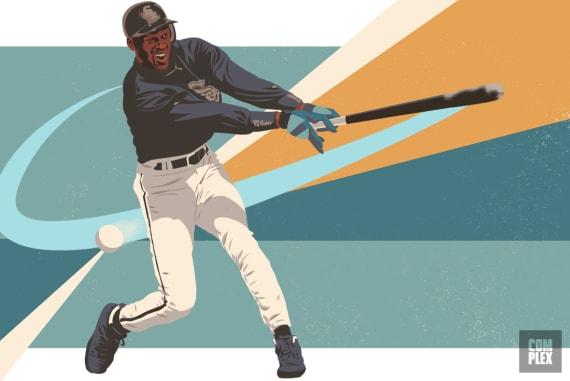 Michael Jordan Swinging Missing Oral History of Baseball Career