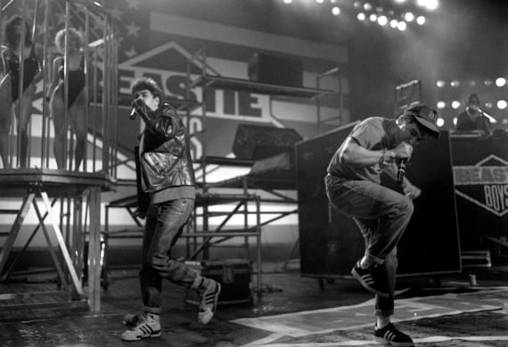 The Beastie Boys At The Brixton Academy In London In 1987.