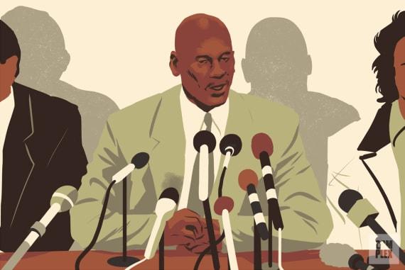 Michael Jordan Oral History Baseball Press Conference