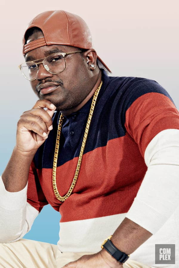 Lil Rel Howery Chin Pose