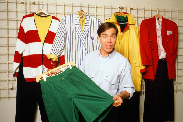 Tommy Hilfiger in 1987