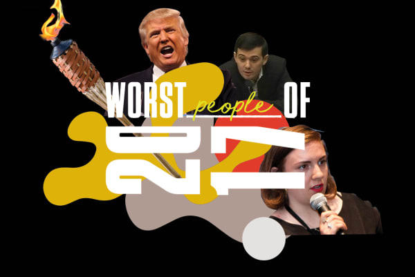 Worst People of 2017