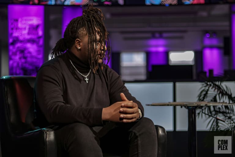 Tay Keith at Complex for his Best Producer Alive interview