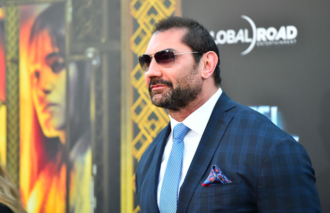 Dave Bautista Sarcastically