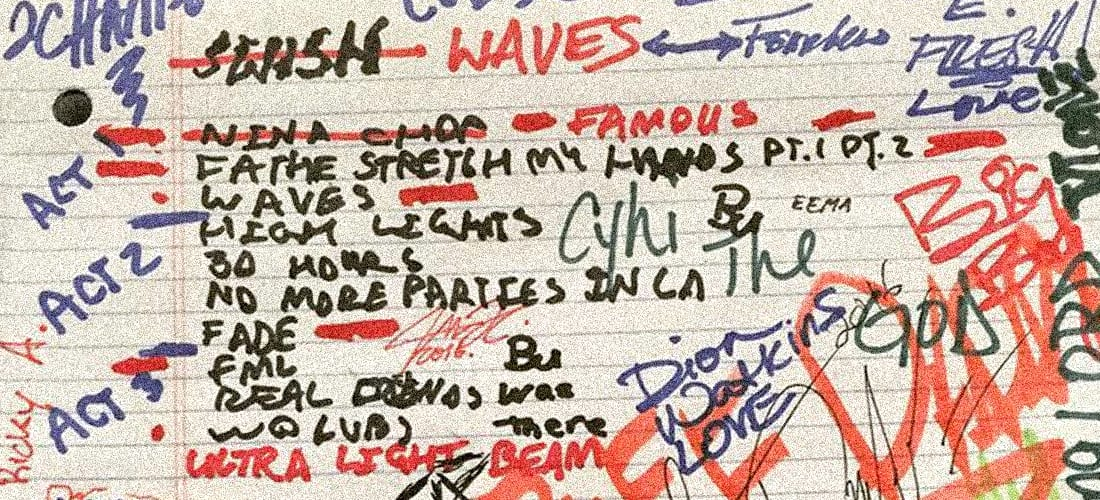 Who the Hell Are All These People Who Signed Kanye West's Notepad?
