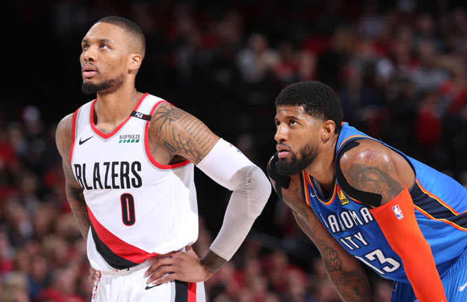 Damian Lillard Says Paul George Is 'Kind of Being a Poor Sport' Over 'Bad Shot' Comments