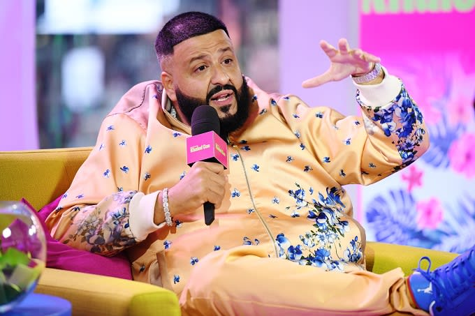 "DJ Khaled Hangs With J Balvin, Meek Mill, Lil Baby, and Jeremih in ""You Stay"" Video"