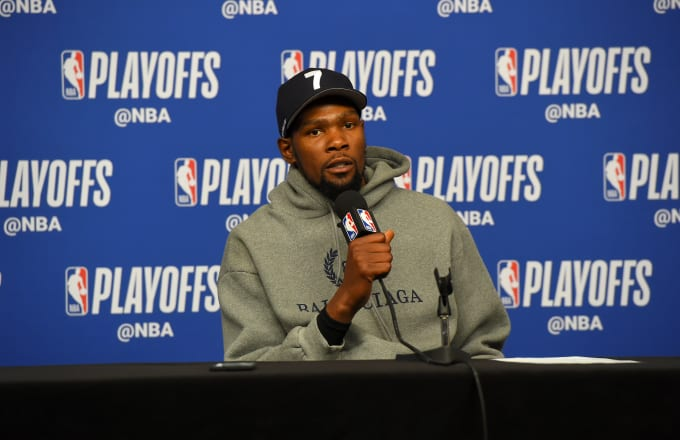 Kevin Durant Calls Out Fox Sports' Chris Broussard on Twitter