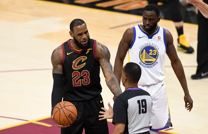 Draymond Green Says LeBron James' Absence From NBA Finals Is a 'Mindf*ck'