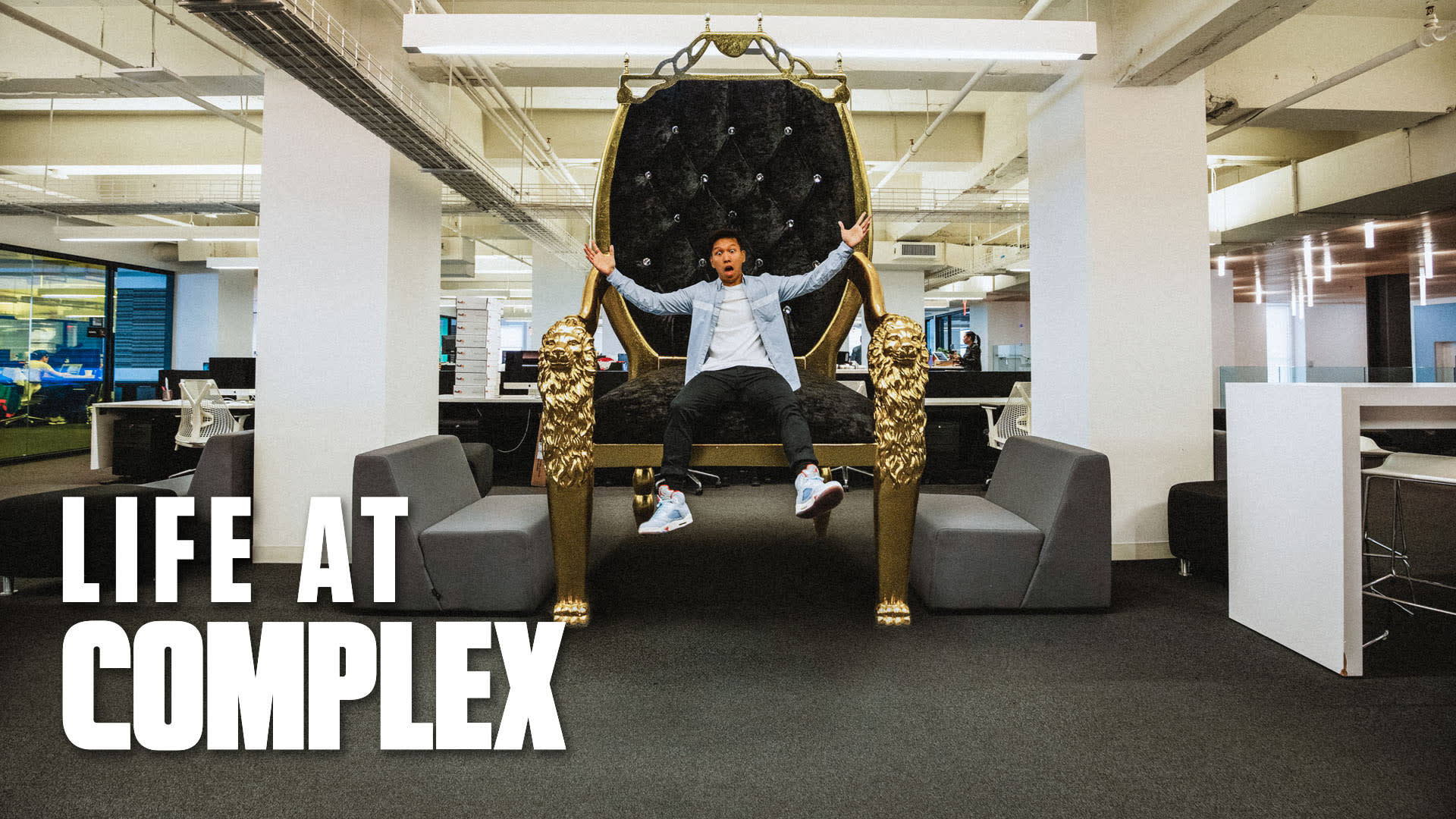 DJ Khaled Sent The Throne! | Life At Complex