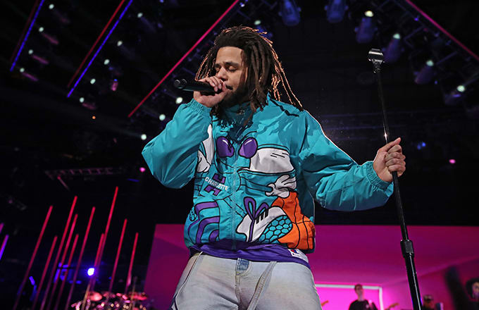J. Cole's Manager Shuts Down Viral Video People Think Shows Rapper Getting Punched