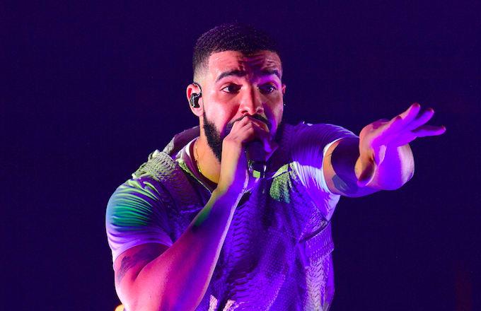 Drake Co-Hosts 1Xtra Rap Show with Tiffany Calver