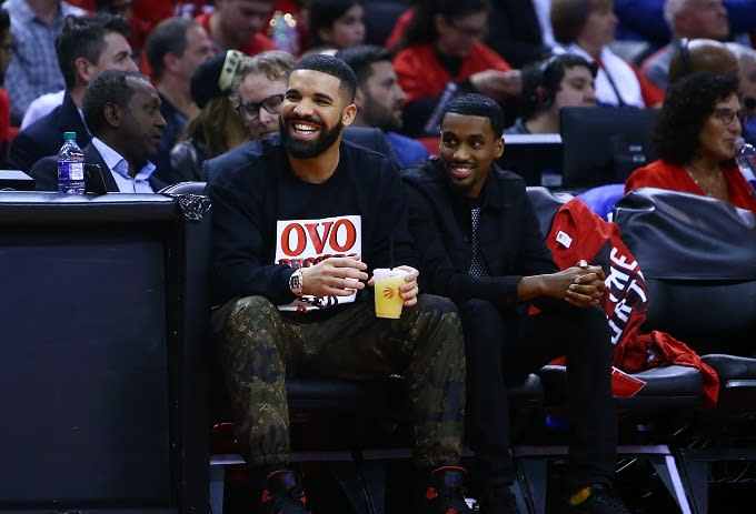 Drake After Raptors Win: 'Want Me to Talk About the Curse or You Guys Good?'