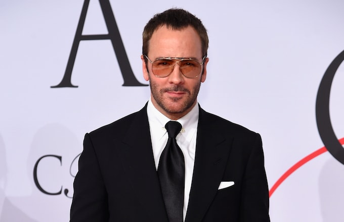 Tom Ford to Head CFDA as New Chairman